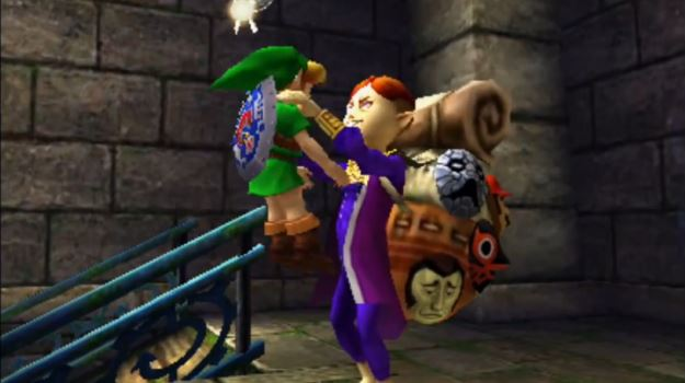 Majora's Mask - Mask Guy