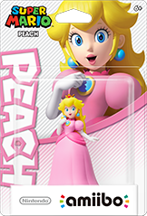 Peach - Amiibo - Super Mario Bros. Series