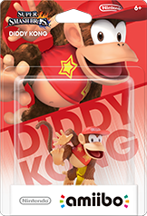 Diddy Kong - Amiibo - Super Smash Bros Series