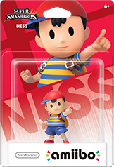 Ness - Amiibo - Super Smash Bros Series