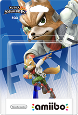 Fox - Amiibo - Super Smash Bros Series