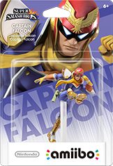 Capt. Falcon - Amiibo - Super Smash Bros Series