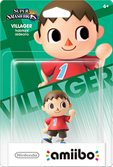 Villager - Amiibo - Super Smash Bros Series