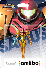 Samus - Amiibo - Super Smash Bros Series