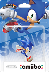 Sonic - Amiibo - Super Smash Bros Series