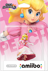 Peach - Amiibo - Super Smash Bros Series