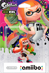 Inkling Girl - Amiibo - Splatoon