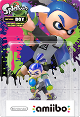 Inkling Boy - Amiibo - Splatoon