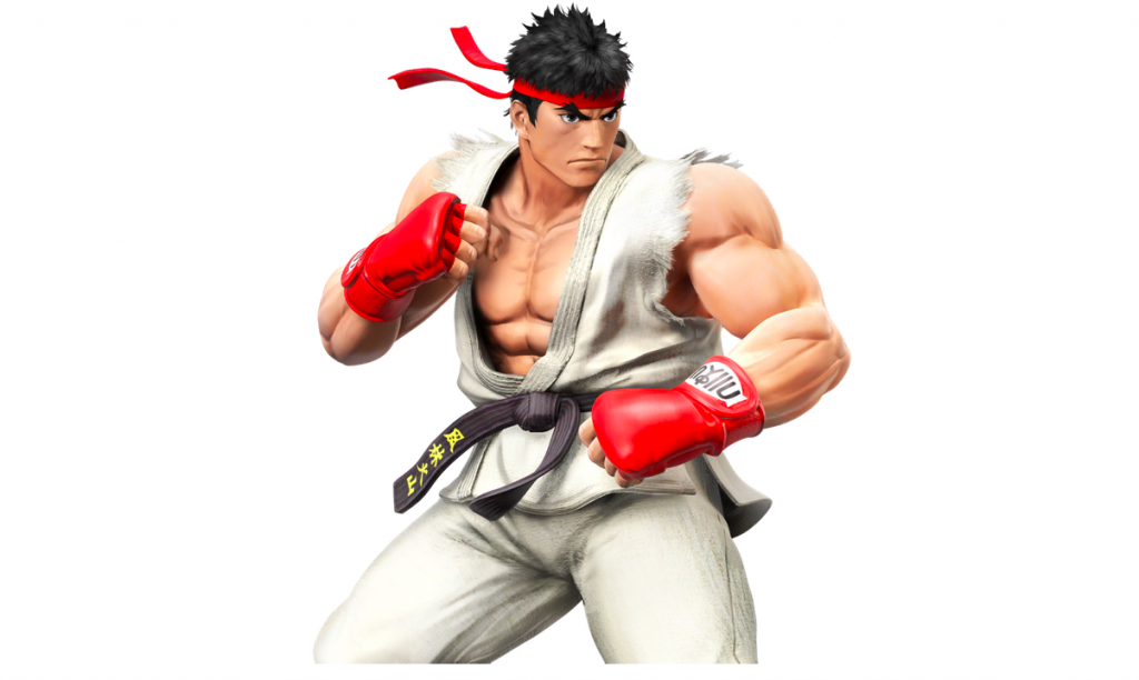 Ryu in Super Smash Bros for Wii U and 3DS