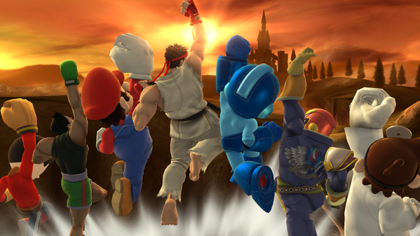 New DLC for Super Smash Bros. Wii U and 3DS - Ryu and Roy
