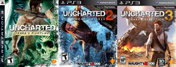 UNCHARTED: The Nathan Drake Collection games