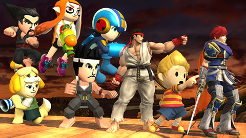 DLC 2 Complete Package for Super Smash Bros. Series