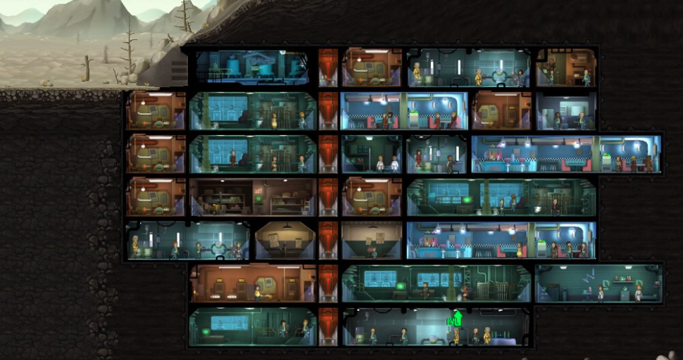 Fallout Shelter Tips - Building several levels