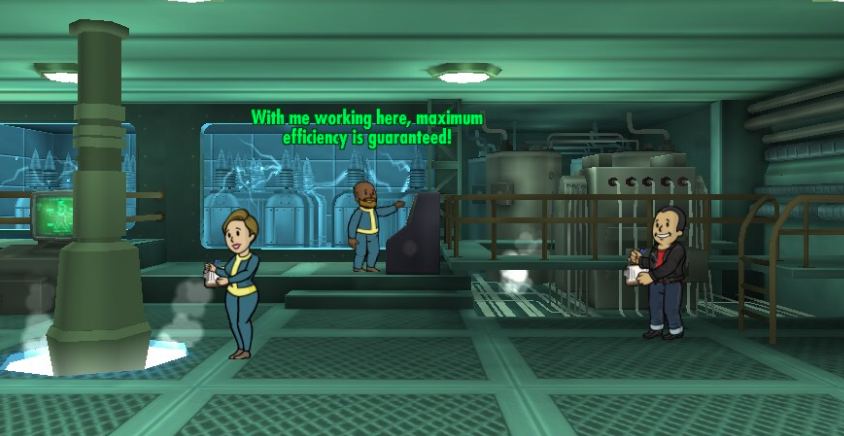 Fallout Shelter Tips - Full efficiency