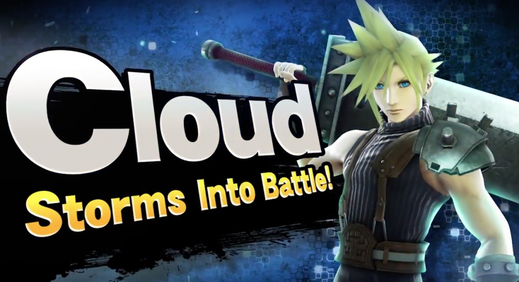 Cloud Strife - Storms into battle