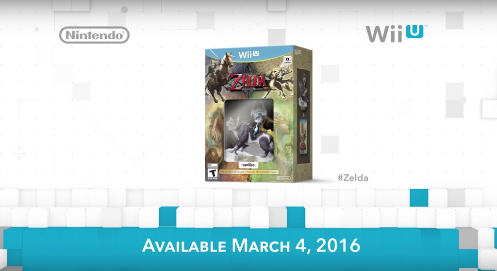 Special Twilight Princess HD Bundle with Amiibo