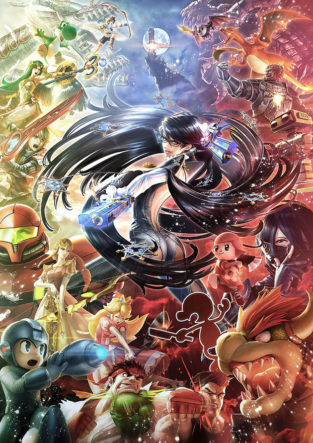 Bayonetta is coming to Super Smash Bros for Wii U and 3DS