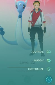 Activate the Pokémon GO Buddy system