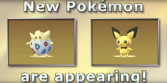 The Pokémon Babies have appeared in Pokémon GO