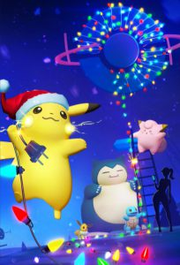 Christmas Pikachu is also visible on the new loading screen.. RIP Gengar